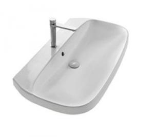 Lavabo per il bagno monoforo cm 100 serie Abito Hatria