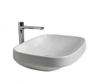 Lavabo per il bagno appoggio cm 58 serie Abito Hatria