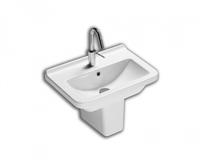 Lavabo sospeso per il bagno cm 55 Erika Pro Hatria