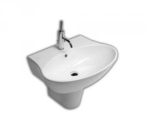 Lavabo sospeso per il bagno cm 68 Nido Hatria