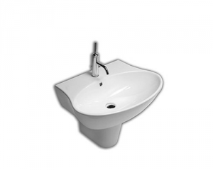 Lavabo sospeso per il bagno cm 56 Nido Hatria