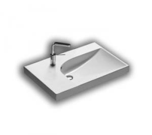 Lavabo sospeso per il bagno cm 75 dx Grandangolo Hatria