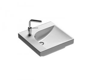 Lavabo sospeso per il bagno cm 50 sx Grandangolo Hatria