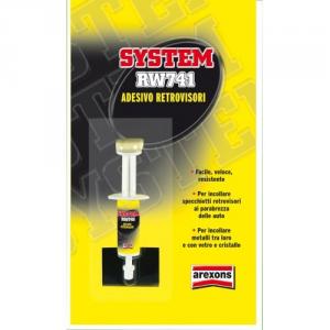ADESIVO PER RETROVISORI SYSTEM RW741 AREXONS 072715