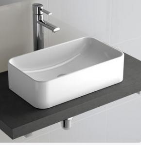 Lavabo da appoggio per il bagno cm 48,5 x 28,5 Sensation Salgar