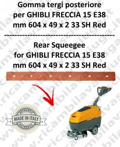 FRECCIA 15 E38 Hinten sauglippen für scheuersaugmaschinen GHIBLI