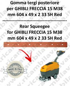 FRECCIA 15 M38 TERGI trasero para fregadora  GHIBLI