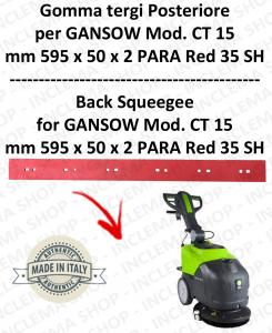 CT 15 Bavette arrière pour autolaveuses GANSOW