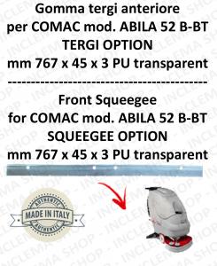 ABILA 52 B-BT TERGI OPTION Vorne sauglippen für scheuersaugmaschinen COMAC