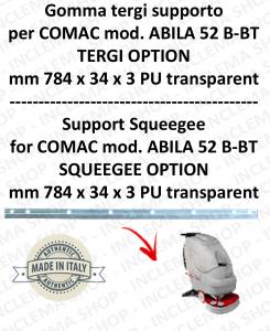 Bavette soutien pour autolaveuses COMAC ABILA 52 B-BT suceur option