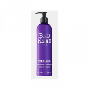 Tigi Bed Head Dumb Blonde Shampoo Con Pigmenti Viola 400ml