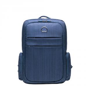 Delsey - Clair - Zaino 2 scomparti porta pc 15.6 blu cod. 3702600