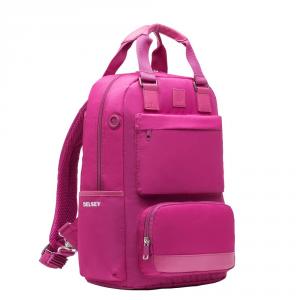 Delsey - Legere - Zaino 1 scomparto porta pc 15.6 rosa cod. 3707600