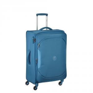Delsey - U lite Classic - Valigia trolley espandibile 68 cm azzurro cod. 3246810