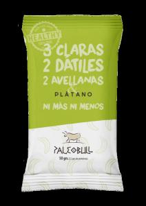 PaleoBull Platano - La Barretta con Fonte Naturale di Proteina all' Uovo - No Glutine-Latticini-Legumi