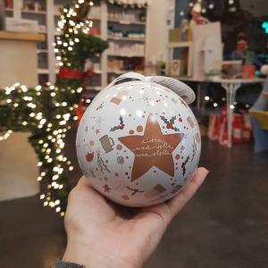 Palla di Natale con infusi - Neavita