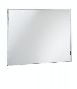 Specchio da bagno cm 80 x 60 serie Lingotto Open Kristallux