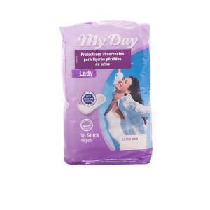 My Day Incontinence Serviette Extra 16 Unités
