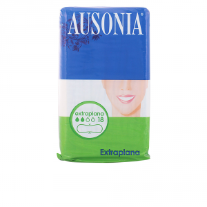 Ausonia Extra Flat Sanitary Towels 18 Units