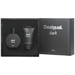 Desigual Dark Man Eau De Toilette Spray 100ml Set 2 Parti 2016