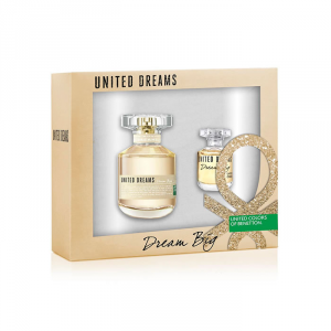 Benetton United Dreams Dream Big Eau De Toilette Spray 50ml Set 2 Parti 2015