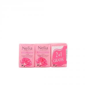 Nelia Agua De Rosas Sapone 3x125g