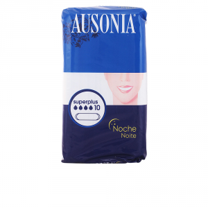 Ausonia Night Super Plus Sanitary Towels 10 Units