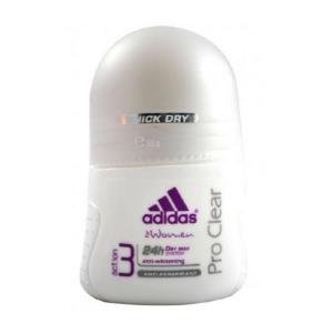 Adidas Woman Pro Clear Deodorante Roll On 50ml