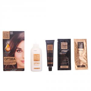Llongueras Optima Permanent Hair Colour Ammonia Free 6.41 Candy Chocolate