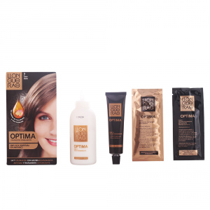 Llongueras Optima Permanent Hair Colour Ammonia Free 7 Medium Blond