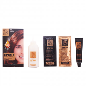 Llongueras Optima Permanent Hair Colour Ammonia Free 6.34 Dark Golden Copper Blond