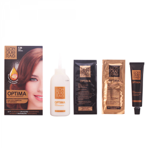 Llongueras Optima Permanent Hair Colour Ammonia Free 7.24 Almond Blond