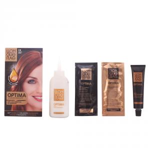 Llongueras Optima Permanent Hair Colour Ammonia Free 7.4 Medium Copper