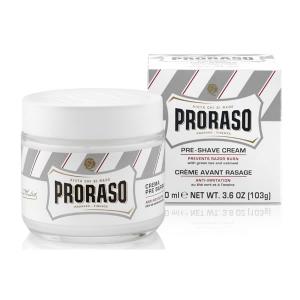 Proraso White Crema Pre Barba Pelle Sensibilie 100ml