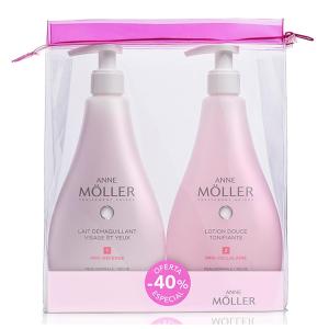 Anne Moller Makeup Remover Lotion Pelli Normali E Secche 400ml Set 2 Parti