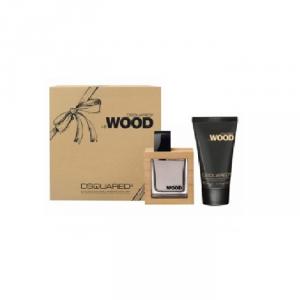 Dsquared He Wood Eau De Toilette Spray 100ml Set 2 Parti 2017