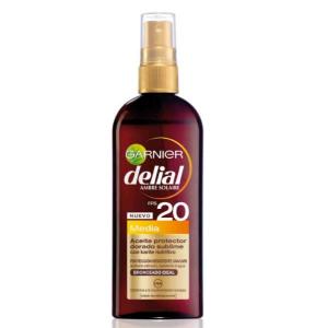 Delial Olio Protettivo Abbronzatura Dorata Spf20 150ml