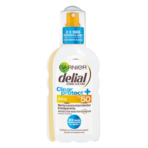 Delial Clear Protect Transparent Spray Spf50 200ml