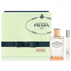 Prada Infusion Fleur D Oranger Eau De Parfum Spray 100ml Set 2 Parti