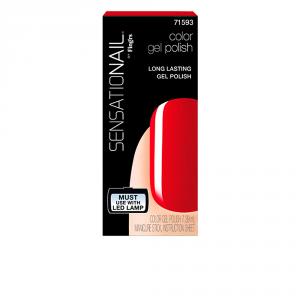 Sensationail Smalto Per Le Unghie Gel Color Scarlet Red 7,39ml