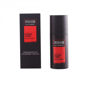 Axe Daily Frangance Iced Musk And Ginger Spray 100ml