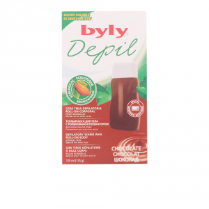 Byly Depil Depilatory Warm Wax Roll On Chocolate 125ml