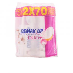 Demak Up Duo Makeup Remover Round Pads 2x70 Units