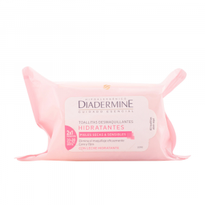Diadermine Moisturizing Make Up Remover Wipes 40 Unità
