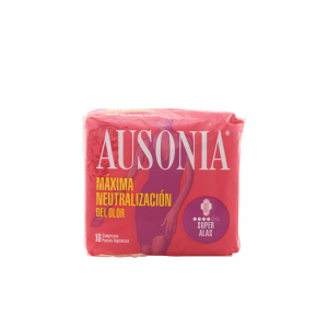 Ausonia Super Plus With Wings Sanitary Towels 10 Units