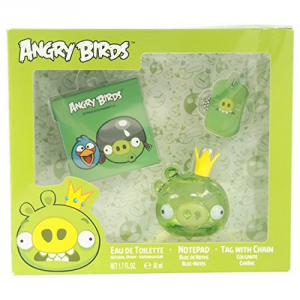 Angry Birds Pig Eau De Toilette Spray 50ml Set 3 Parti