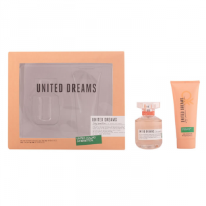 Benetton United Dreams Eau De Toilette Spray 80ml Set 2 Parti 2015