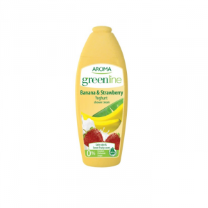 Aroma Greenline Gel Banana & Strawberry 400ml