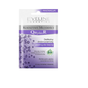 Eveline Delicate Fine Grained Facial Scrub Q10 Plus Coenzymes Of Youth 10ml