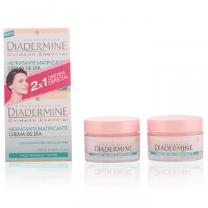 Diadermine Moisturizing Mattifying Day Cream 50ml Set 2 Parti